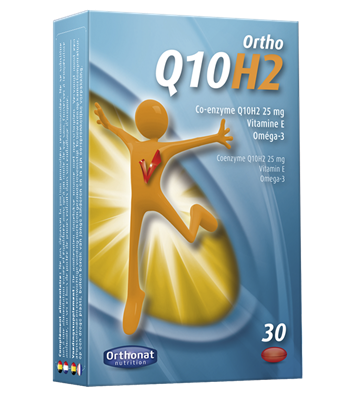 UBIQUINOL 25 mg - ORTHO Q10H2 - ORTHONAT