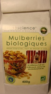 Mulberries biologiques  400g