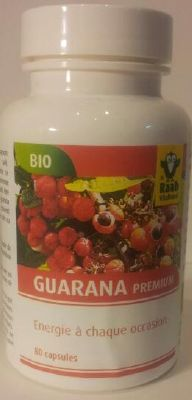 Guarana bio  - 80 gélules de 500 mg
