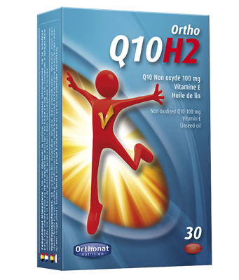 UBIQUINOL 100 mg - ORTHO Q10H2 - ORTHONAT