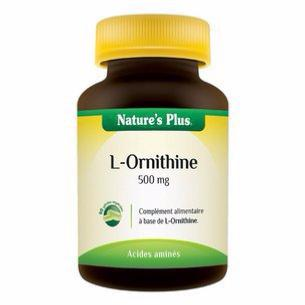 L-Ornithine 500 mg 90 gélules Nature plus