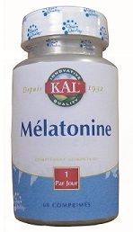Mélatonine  1 mg   60 comprimés - SOLARAY